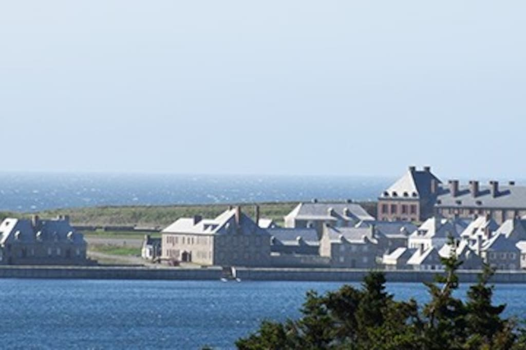Fortress of Louisbourg - within 5 minutes