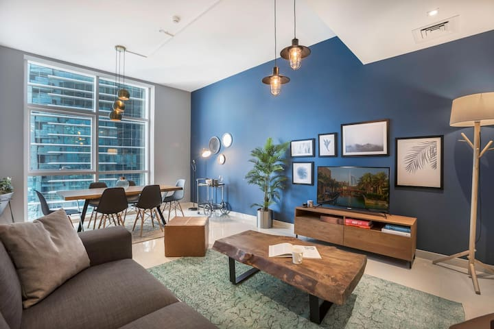 Duja Apartment , Sheikh Zayed Road by Blueground