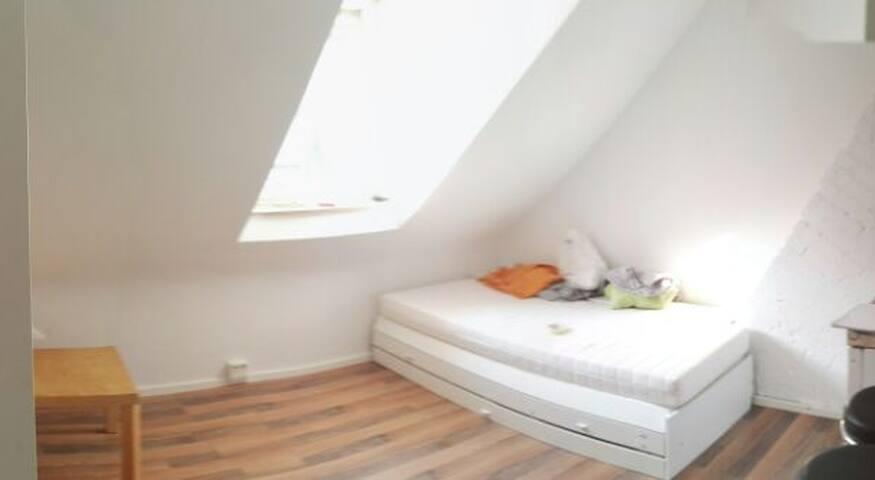 Studio-Wohnung für zwei Personen. Zentral!