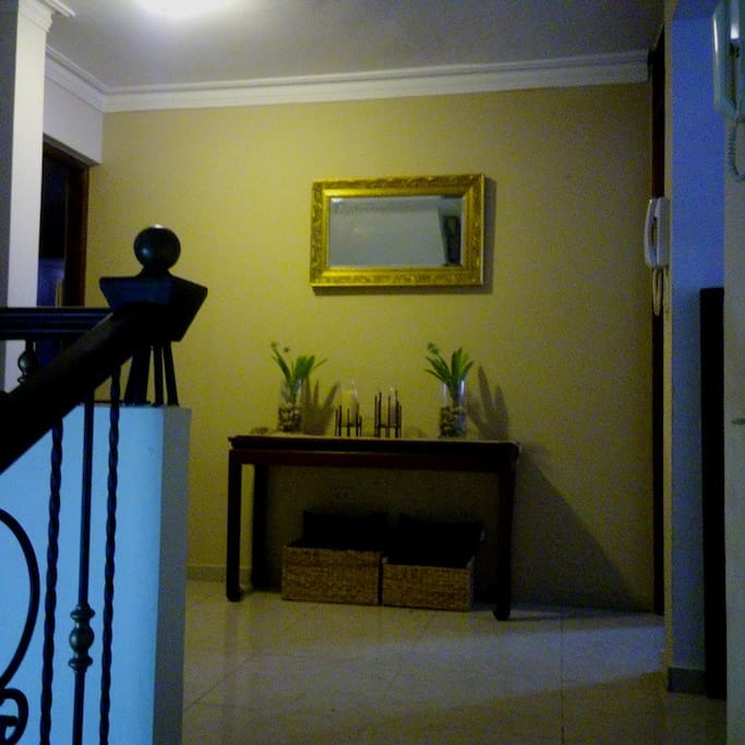 Hall, entrance to Rooms