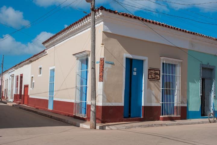 Habitación 2 del Hostal Colonial Casa LLiliam