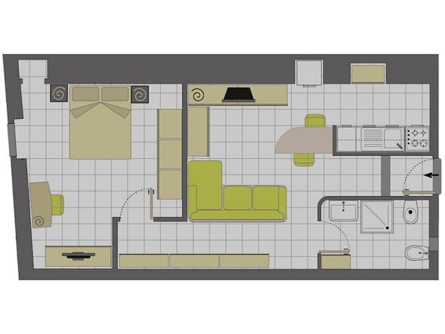Appartamento Palazzo Gabrielli - Noci - Appartement