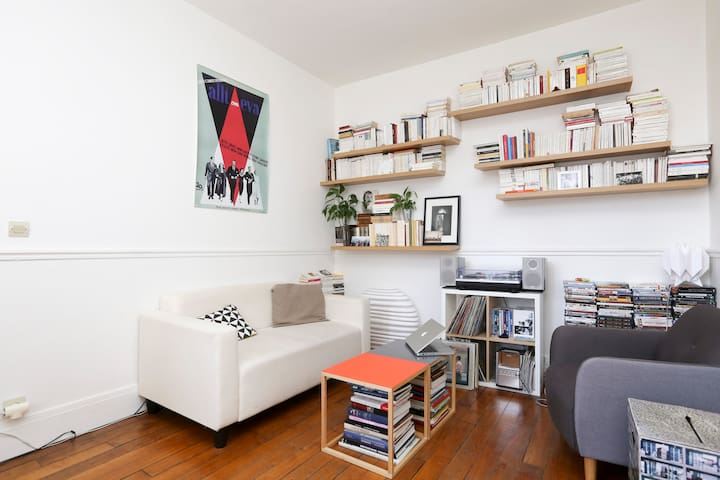 Cosy flat on Canal Saint-Martin - Paris - Apartemen