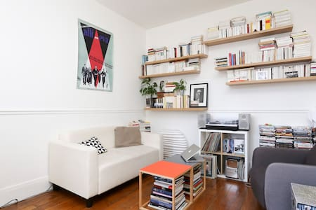 Cosy flat on Canal Saint-Martin - Paris - Flat