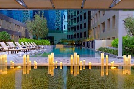 Luxury studio close to Burj Khalifa - Dubaï - Appartement