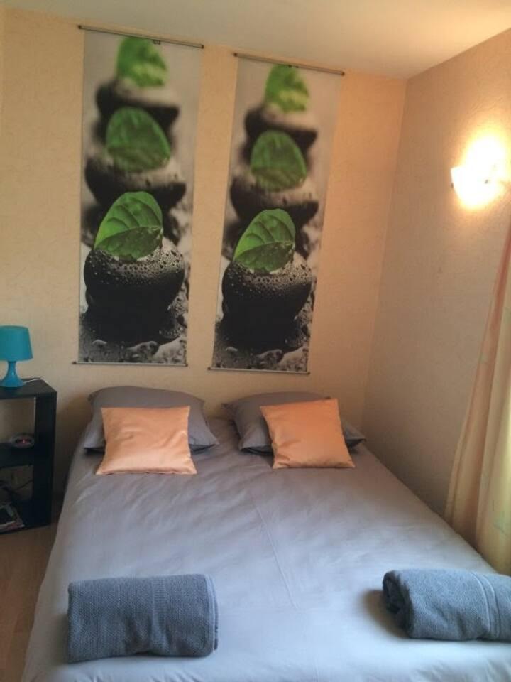1 chambre sur Vacquiers, dans le Frontonnais.