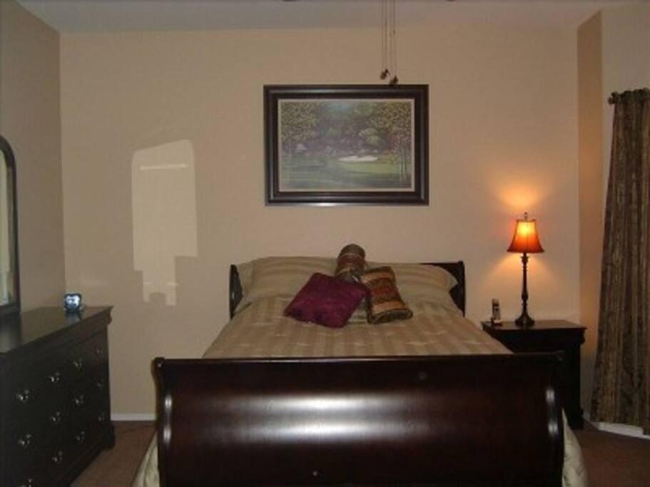 Master Bedroom with private en suite bathroom