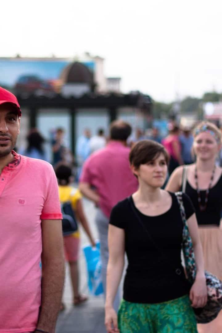 walking aroun Eminönü
