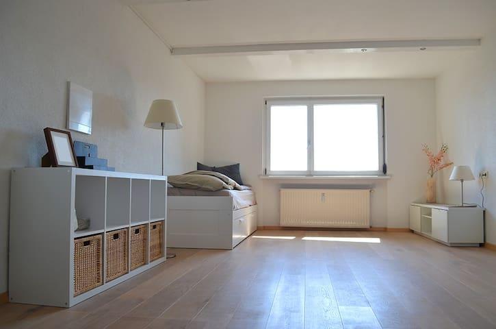 1 Zimmer Appartement + Bad + WLAN - Langen bei Bregenz - Lägenhet