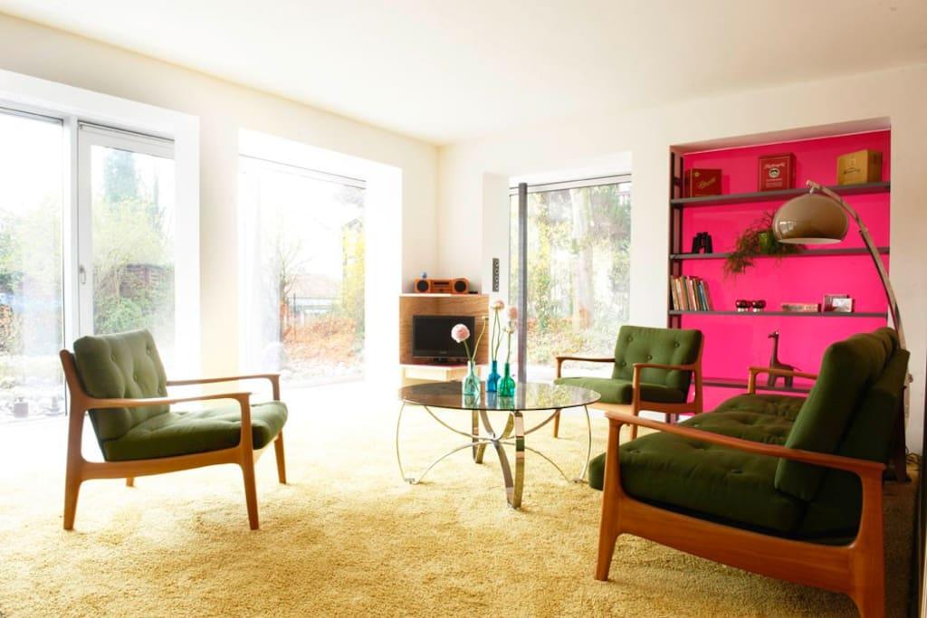 design ferienwohnung 5 seen land wohnungen zur miete in seefeld bayern deutschland. Black Bedroom Furniture Sets. Home Design Ideas