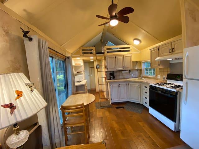 Dells Tiny House Adventure! - Blue Belle