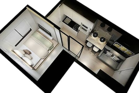 1br- Madisson tower at Central Park Mall