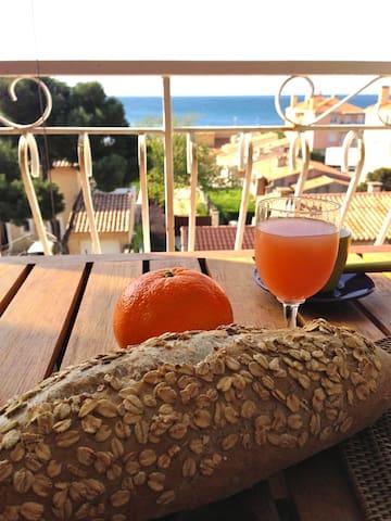 Cozy seaside appartment 100m to Mediterranean Sea - Sausset-les-Pins - Apartamento