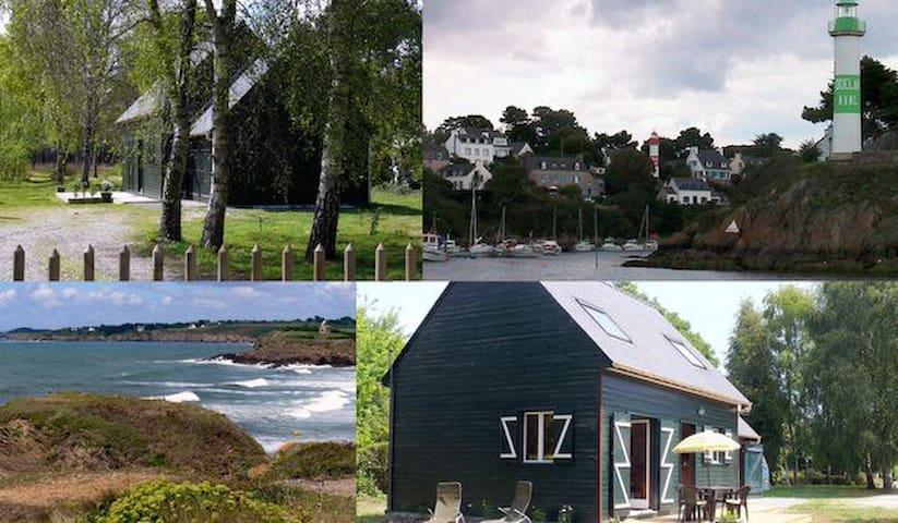 des vacances en vert et bleu - Clohars-Carnoët - House
