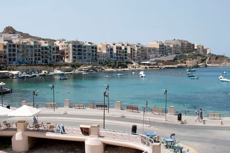 SEA FRONT Marsalforn Gozo  Flat  - Zebbug
