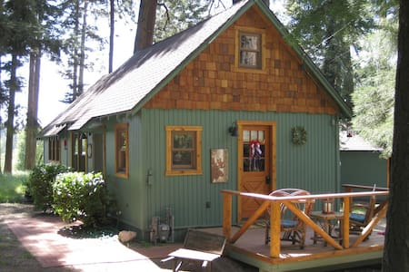 "The Wildflower Cabin ""Just for Two"" - Lake Arrowhead - Kulübe"
