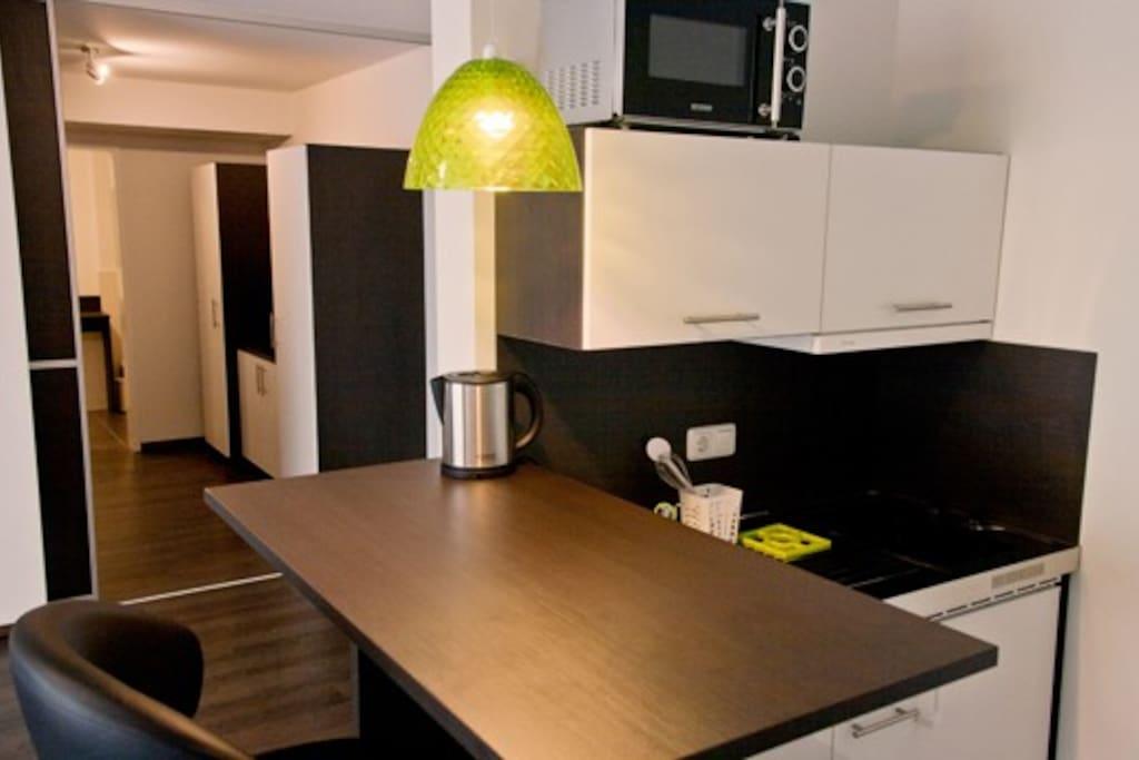 Appartementbeispiel - Küche