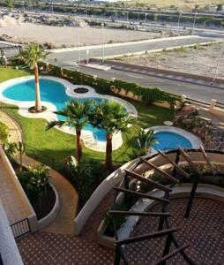 Fantástico ático en residencial con piscina - Roquetas de Mar - Apartment