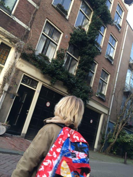Stylish house in jordaan amsterdam case in affitto a for Case in affitto amsterdam lungo periodo