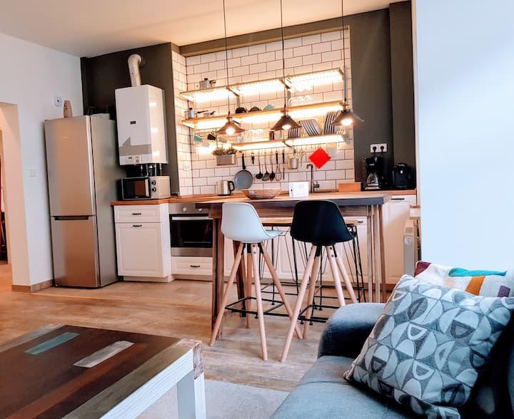Neue moderne Wohnung,  Zentral und Messe-nah