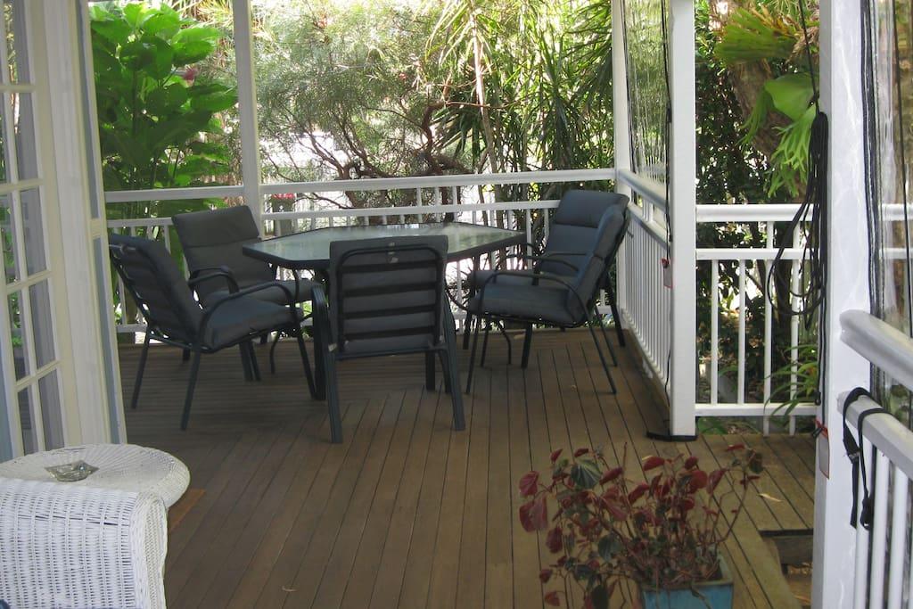 East verandah