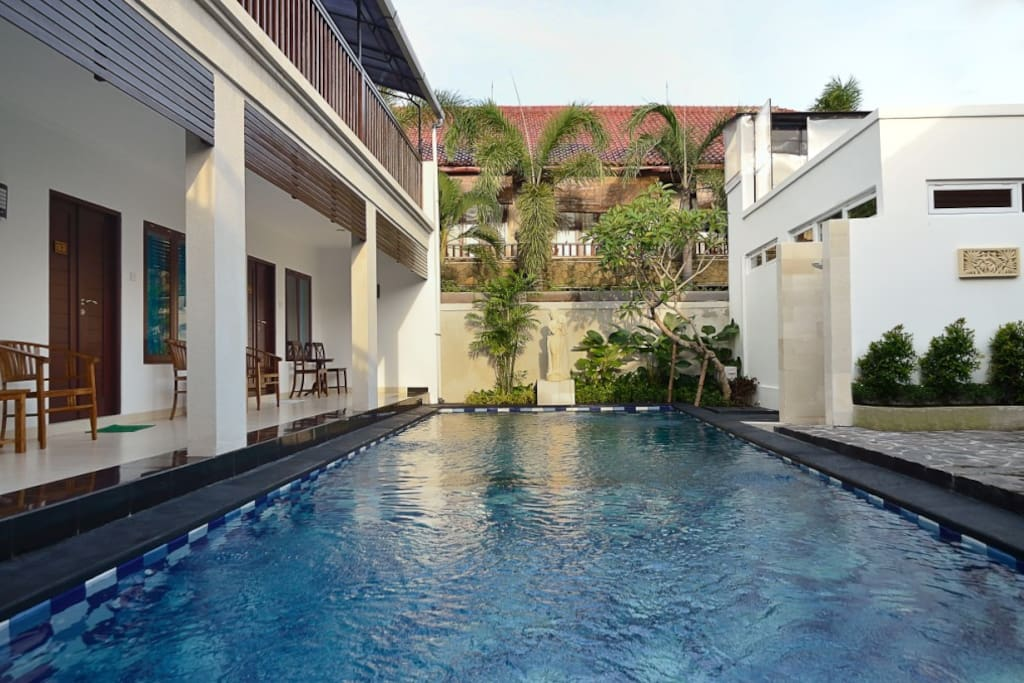 Sanur House pool place for you to spend day or nights