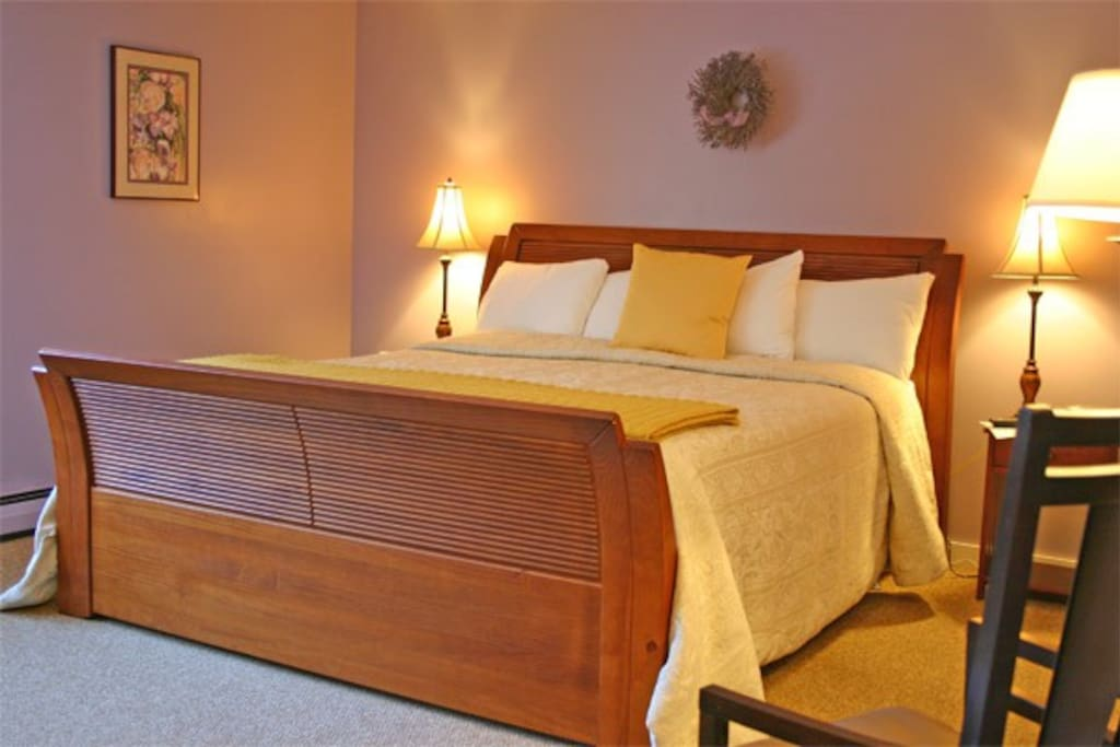 We have 3 king bed rooms such as this one.