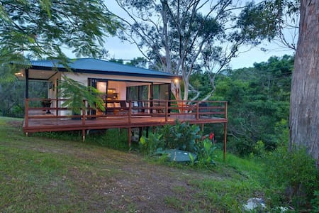 Sunset Cottage Byron Bay hinterland - Myocum - กระท่อม