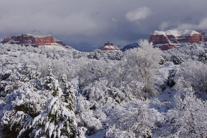 Winter in Red Rock Country.