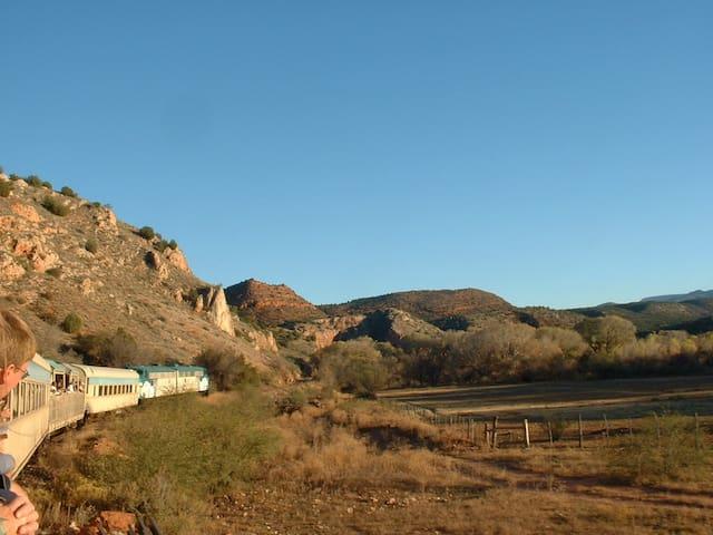 Take a day trip on the Verde Canyon Railroad.