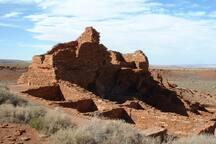 Wupatki National Monument just north of Flagstaff.