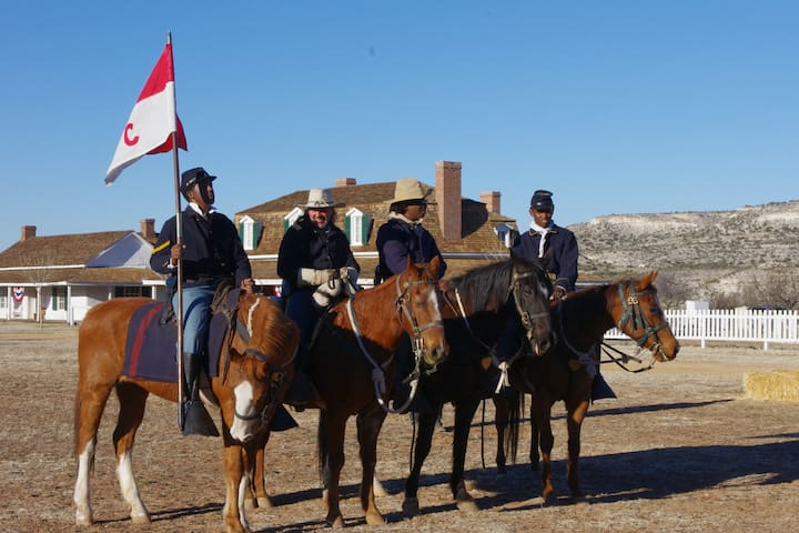 Fort Verde State Historic Park's annual Buffalo Soldier reenactments.