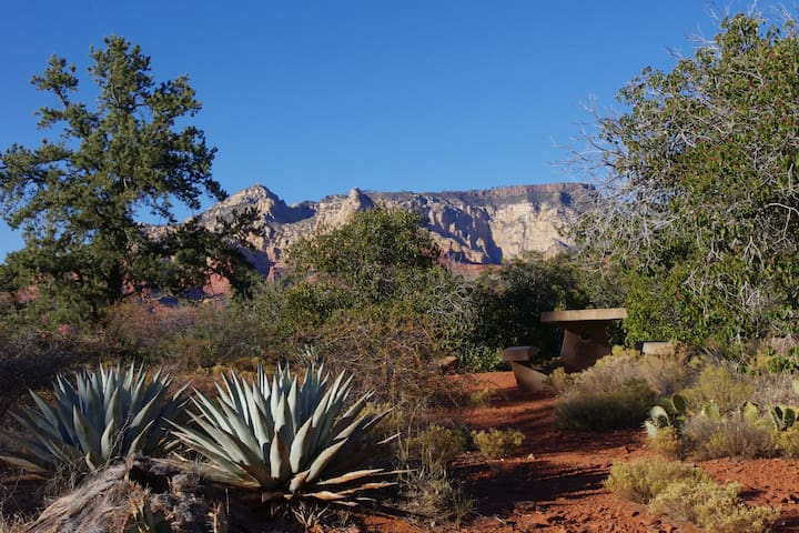 Huckaby Trailhead on the Coconino National Forest off Schnebly Hill Rd..