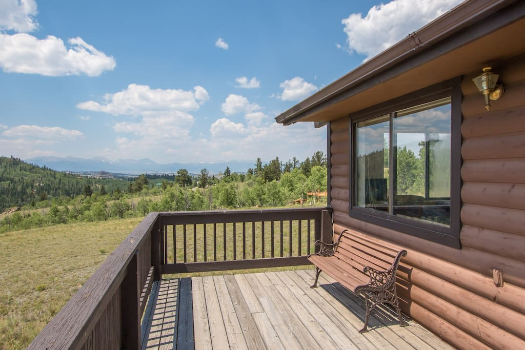 Walk out on the upper deck from the great room or the master bedroom. Star gazing, wildlife,  sunsets and sunrises.