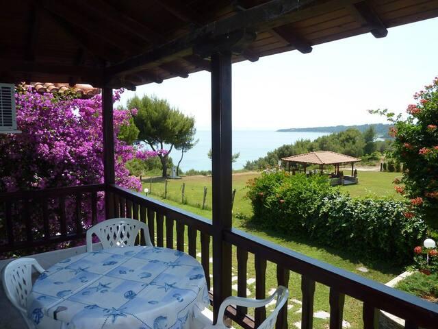 Villa Oasis apartment with balcony - Nea Poteidaia - Daire