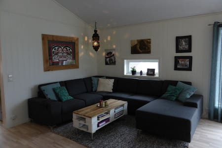 3 bedroom private new home. - Sogndal