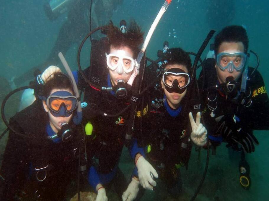 國際潛水證照潛水取照3天2夜證照班_OWD