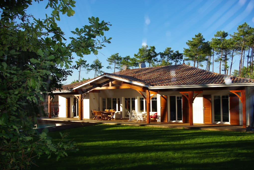 Bassin d 39 arcachon villa maisons louer lanton aquitaine france - Maison bassin d arcachon location nice ...