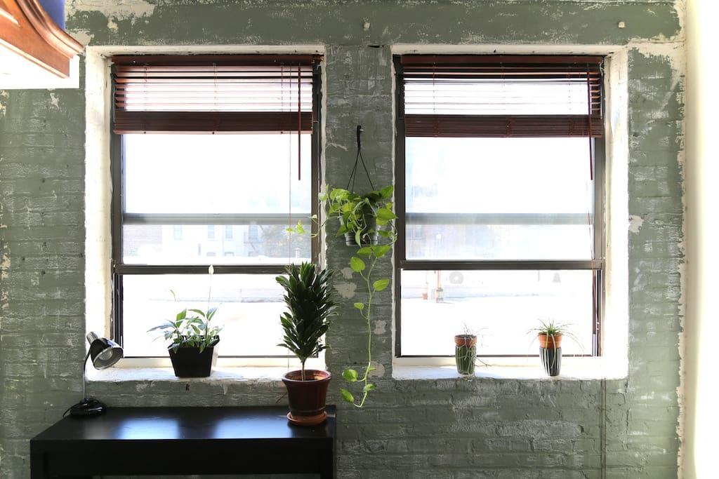 room #2, window view