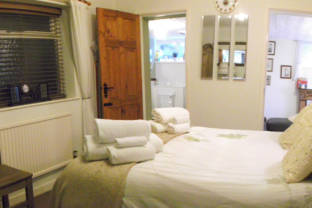 The main room, with separate bathroom and  your own sitting room.