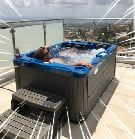 Health benefits of soaking in your own private hot tub are worth mentioning and exploring!