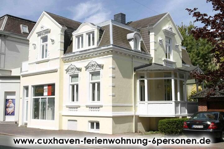 Ferienwohung 6 Pers. in Stadtvilla - Cuxhaven - Villa