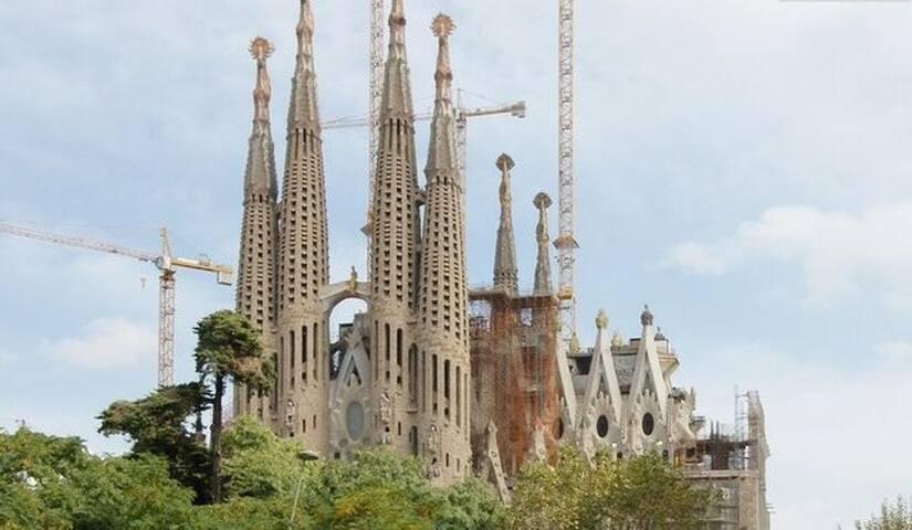 Cama matrimonial habitación cómoda - Barcelona - Talo