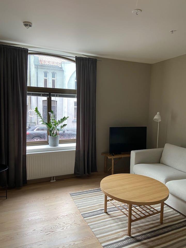 Fin 2-roms leilighet med super beliggenhet.