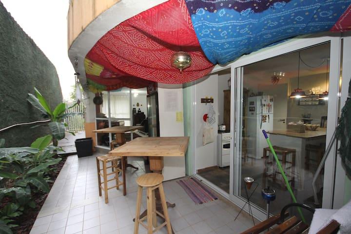 Hostel Pedala Curitiba - Twin bed 2 - Curitiba - House