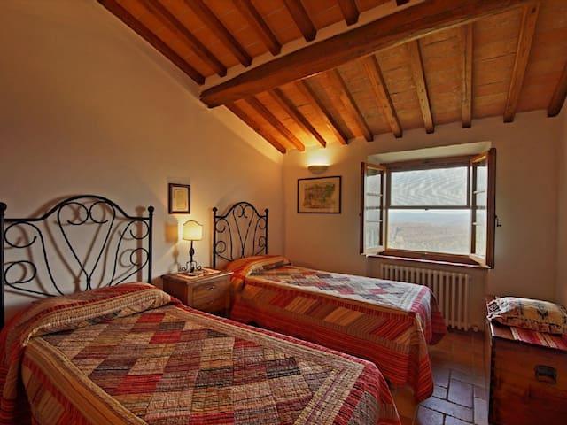 2 Ferienwohnungen mit privatem Pool - Chiusdino - Lägenhet