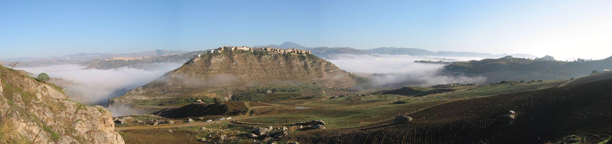 Stanza in villa panoramica - Sant'Angelo Muxaro