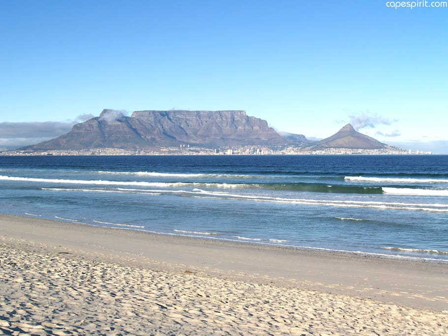 Unit is 1.5km from the Blouberg beach