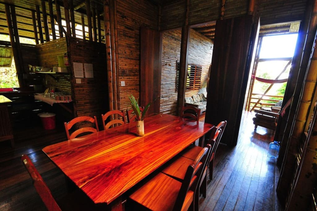 Spacious dining by guest James MacCraw