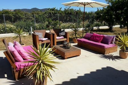Charming, luxe Casa close to Ibiza with airco - Sant Antoni de Portmany - Talo